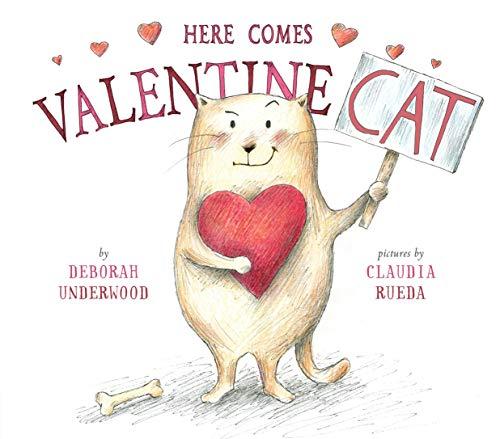 Here Comes Valentine Cat -