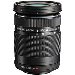 Olympus M.Zuiko Ed 40-150mm f4.0-5.6 R MILC Objectif téléobjectif Zoom Noir - Lentilles et filtres d'appareil Photo (MILC, 13/10, Objectif téléobjectif Zoom, 0,9 m, Micro Four Thirds, 4-5,6)