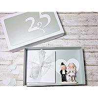 Geldgeschenk Geschenk zur Silberhochzeit Silberne Hochzeit