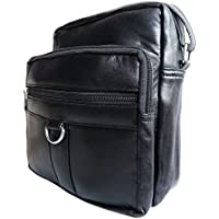 d0a1d2d37a74 Mens Womens Travel Bags - Leather Shoulder Man Bag - Holiday Trip Organiser  Utility Pouch For