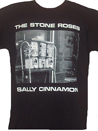 Mens THE STONE ROSES 'SALLY CINNAMON' T Shirt MEDIUM