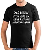 Touchlines Herren Das Leben ist zu kurz. T-Shirt SF117 black XXL