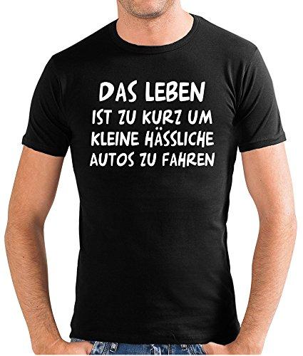 Touchlines Herren Das Leben ist zu kurz... T-Shirt SF117 black M