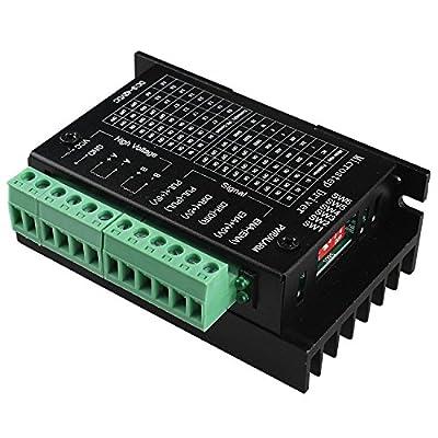 TopDirect TB6600 Stepper Driver 4A 9-42V Schrittmotor Treiber Controller 2/4 Phasen Hybrid Schrittmotor Treiber Fahrer für 3D Printer Drucker / CNC