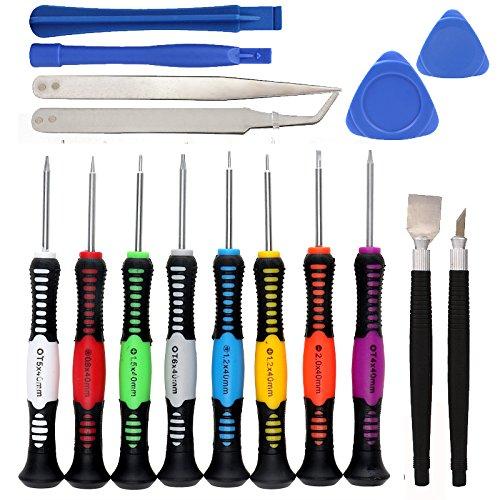 16 in 1 öffnung reparatur werkzeuge für iphone samsung htc universal heißer verkauf für pc pda schraubendreher set kit (Samsung Tablet Zum Verkauf)