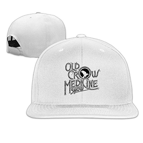 thna-stream-the-new-old-crow-medicine-show-album-carry-adjustable-fashion-baseball-cap-white