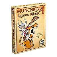 Pegasus-Spiele-17214G-Munchkin-4-Rasende-Rsser Pegasus Spiele 17214G – Munchkin 4, Rasende Rösser -