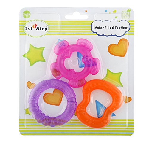 1st-Step-ST-1232PPO-Water-Teether-Pack-3-Pieces-Pink