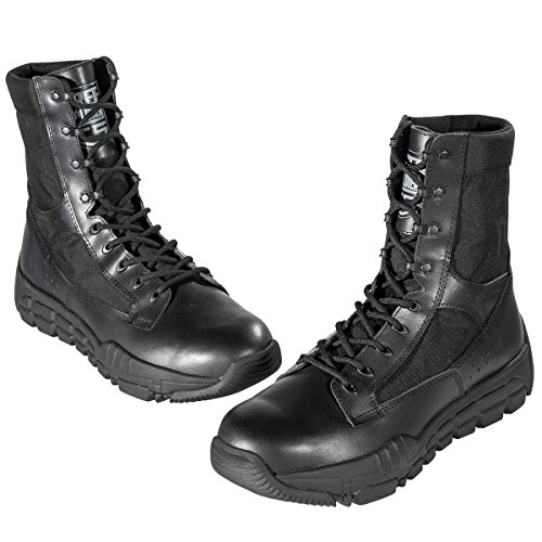 FREE SOLDIER Men's Military Patrol Work Hiking Boots Tactical Stellar Shoes Leather...