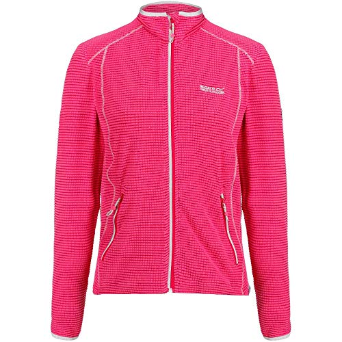 51SgPZqk97L. SS500  - Regatta Womens Willett Full Zip Lightweight Stretch Grid Fleece