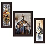 Wens 'Fashion In Molding Style' Wall Art (MDF, 29.5 cm x 24.5 cm, WSP-4324)