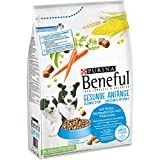 Purina Beneful Hundetrockenfutter Gesunde Anfänge (mit Huhn, Vollkorngetreide, Gartengemüse und Vitaminen), 2 X 3kg Beutel