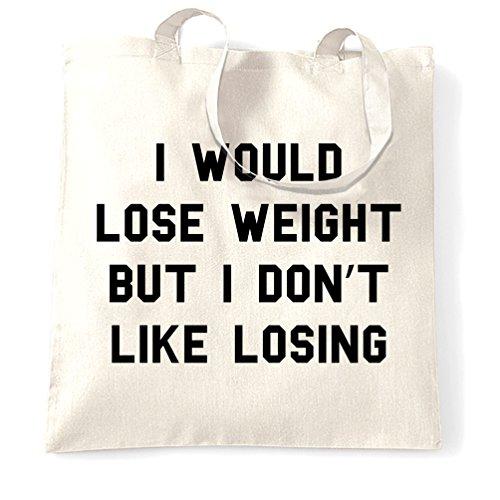 Paresseux Sac à Main Je perdrais du poids mais ne pas comme perdre White One Size