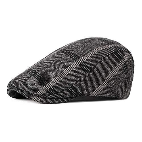 Anshili Uomo Cotone Spessore Cappello per l inverno Cappelli ... b8ec7708e380