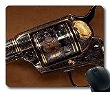 Gaming Mauspad, Pistole Zubehör, Pistole, Mauspad mit genähten Kanten