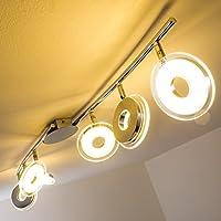 Barra da soffitto con faretti LED Prag - 6 x 4,5 Watt - 350 lumen per faretto - Bianco clado [Classe energetica A]