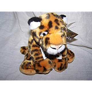 WWF Amur Leopard Soft beanie toy