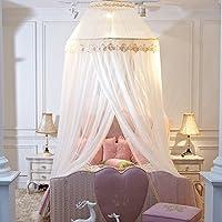 Baby Moskitonetz Baby Kleinkind Bett Kinderbett Kuppel Baldachin  Netting Beige 150x200cm(59x79inch)