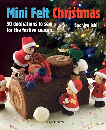 Mini Felt Christmas (English Edition)