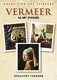 Vermeer: 16 Art Stickers