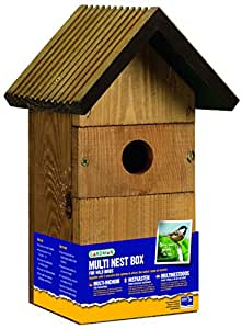 Gardman a02025 Multi Nichoir pour Oiseaux Sauvages