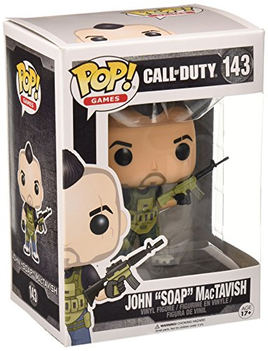 "Pop! Games: Call Of Duty - John ""Soap"" Mactavish #143 Vinyl Figure"