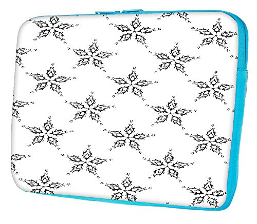 "Snoogg Deep Sea caccia a 12 pollici per 12,5 """" A 12,6 pollici Laptop Notebook Custodia Custodia morbida Custodia per MacBook Pro Acer, Asus, Dell, HP, Sony, Toshiba verde Green Deep Sea Hunting Designer"