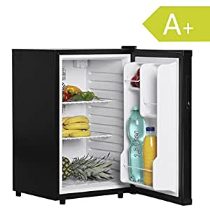 amstyle minik hlschrank 65 liter minibar schwarz. Black Bedroom Furniture Sets. Home Design Ideas