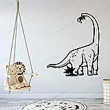 guijiumai Dioasaur Diplodocus Sticker Adesivo da Parete in Vinile Impermeabile per Baby Room Vinile murale Camera per Bambini Poster AY57X68CM