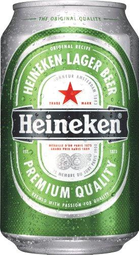 Heineken Bier 24x0,33 ltr. Dose Inkl. 6.00€ EINWEG Pfand