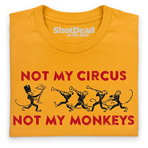 Not My Circus T-Shirt, Damen Gelb