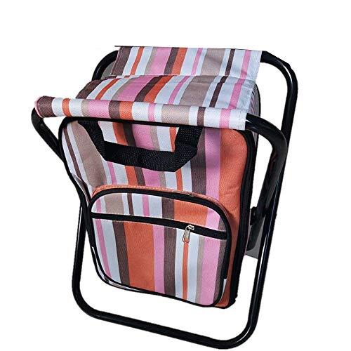 WYFDM Outdoor-Freizeitstuhl Wild Folding Ice Bag Stuhl Doppelöffnung Outdoor-tragbare Freizeit-Thermostat-Tasche zum Ausgehen auf dem Feld, Grillen, Ausgehen, Must-Have-Artefakte (Bag Stuhl)