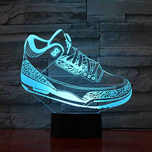 ziweipp Kinder Geschenk 3D Sneaker Lampe led Sneaker licht Kinder leuchtende Schuhe Spielzeug Jungen mädchen Baby 7 Farben blinkende Lichter Free Dropship -