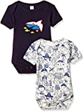 #8: Cloth Theory Baby Boys' Romper Suit (Pack of 2)(ICWN BPJMS 001_Multicolour_3-6 months)