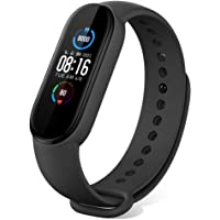 "Xiaomi Mi Band 5 Fitness Tracker Smartwatch Activity Tracker Uomo\Donna con Schermo 1,1"" AMOLED a Colori/50m…"