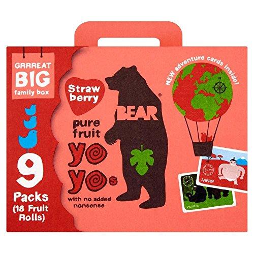 Gardez pur fruits Yo Yos Strawberry (9x20g) - Paquet de 6