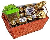 Geschenkidee Geschenkkörbe - Geschenk Set Osternest Sweet Easter mit Ferrero Rocher (4-teilig)