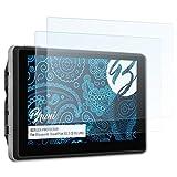 Bruni Schutzfolie für Blaupunkt TravelPilot 53 2 CE EU LMU Folie - 2 x glasklare Displayschutzfolie