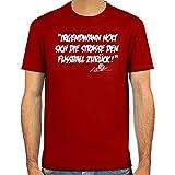 SpielRaum T-Shirt Ansgar Brinkmann, Irgendwann holt sich die Straße den Fußball zurück ::: Farbauswahl: skyblue, weiß, deepred, schwarz, oliv oder navy ::: Größen: S-XXL