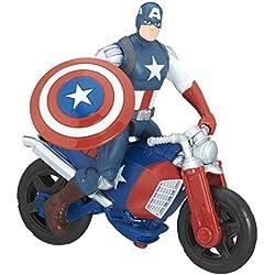 Hasbro C0478 3pieza(s) Multicolor Niño figura de juguete para niños - Figuras de juguete para niños (Multicolor, 4 año(s), Niño, Acción / Aventura, Marvel Heroes, Vehículo, Shield)