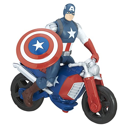 Hasbro C0478 3piece (s) Child Figure Toy for children - Toy Figures for children, 4 year (s), Child, Action / Adventure, Marvel Heroes, Vehicle, Shield