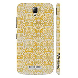 Lenovo A2010 THE YELLOW INDIAN ART designer mobile hard shell case by Enthopia