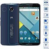 Wunderglass - Google Nexus 6 9H Vetro Temperato antiproiettile Pellicola salvaschermo Protettiva Protezione Protettore Glass Screen Protector - di OKCS®