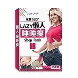 Lazy Old Medicina Cinese Navel Bastone Corpo Cura Perdita Di Peso Cura Ombelico Massaggio Corpo Signora Pancia Pigro Sonno Sonno Adesivi