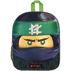 Mochila 3D Lego Ninjago Green Ninja para Niños Escuela Viaje