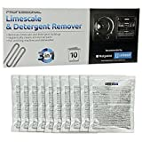 Appliances Packages Best Deals - Indesit Indesit Limescale And Detergent Remover (Box Of 12) (Hotpoint/Creda Spares, Consumable) Helps Kill Bacteria And Eliminates Odours And Keeps Your Washing Machine Smelling Fresh