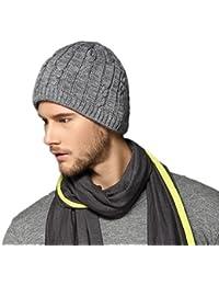 Kenmont hiver unisexe hommes chaud tricot en plein air Ski cache-oreilles Skull Hat Beanie Cap