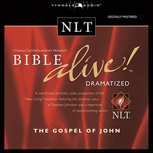 Bible Alive! NLT Gospel of John (Audio Bible-nlt)