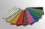 MICRONIC 944018 EVA Capband stérile, bandelettes de bouchons pour fermer 8 tubes (Pack de 120)