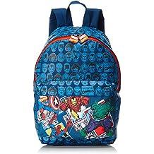 Perletti 077325 Avengers Mochila Infantil, Color Azul Marino